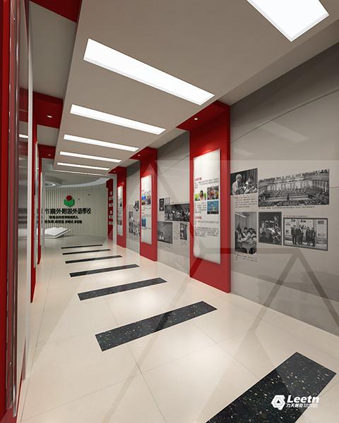 外附设外语学校校史馆企事馆布展设计方案