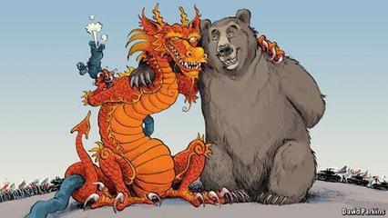 """欧美促使中俄再续前缘,中方已提供千亿""""彩礼"""""""