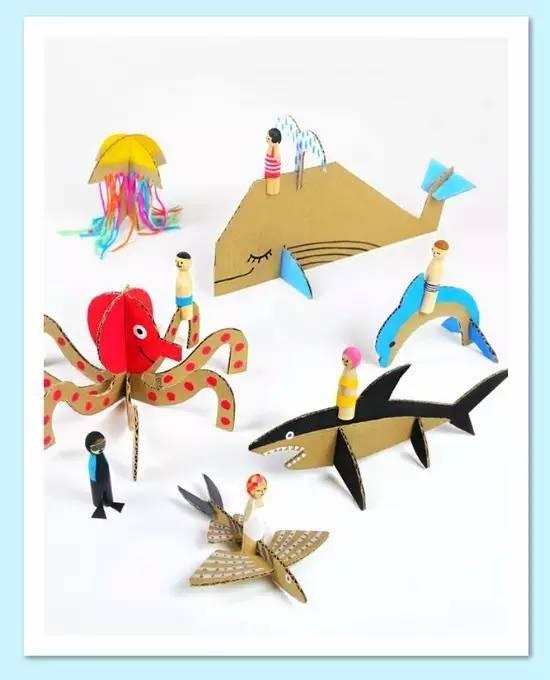 家长最喜欢的幼儿园手工作业应该就是相框了