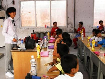 """河北大学学生赴国家级贫困县支教 传递爱的力量"""""""