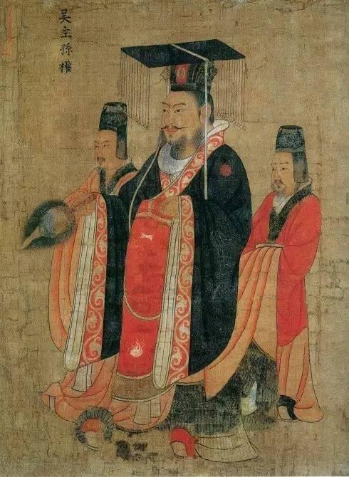 23,孙 吴太祖孙权(182年-252年) 共4位皇帝.东吴4帝.
