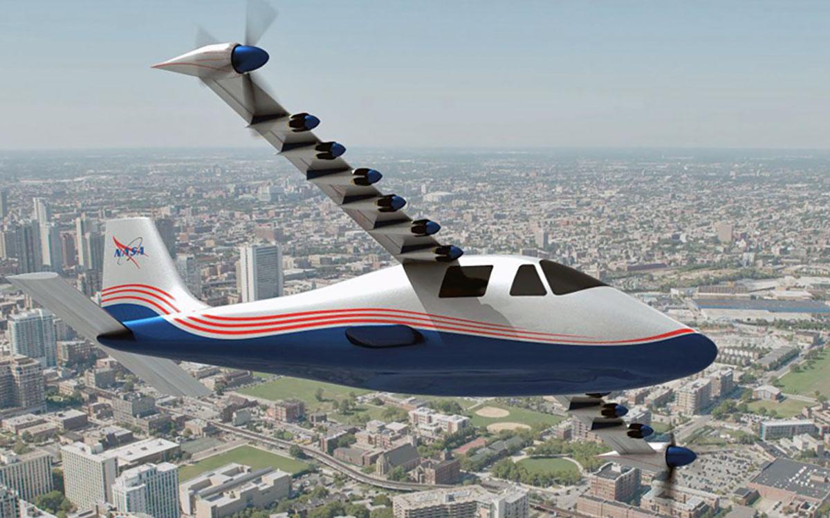 """推动下一轮航天革命, NASA 建造电动飞机试验台"""""""