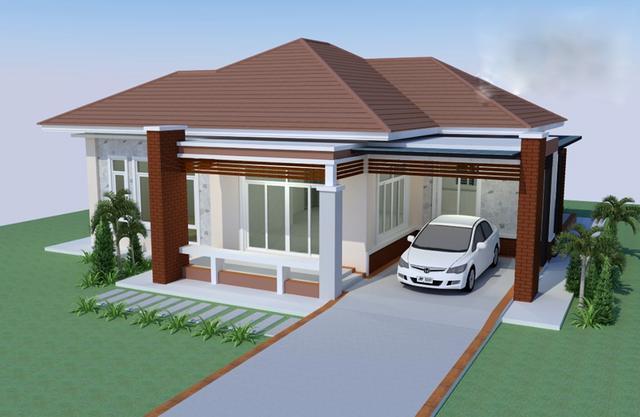 农村建房还是一层好,经济实用 含3D展示