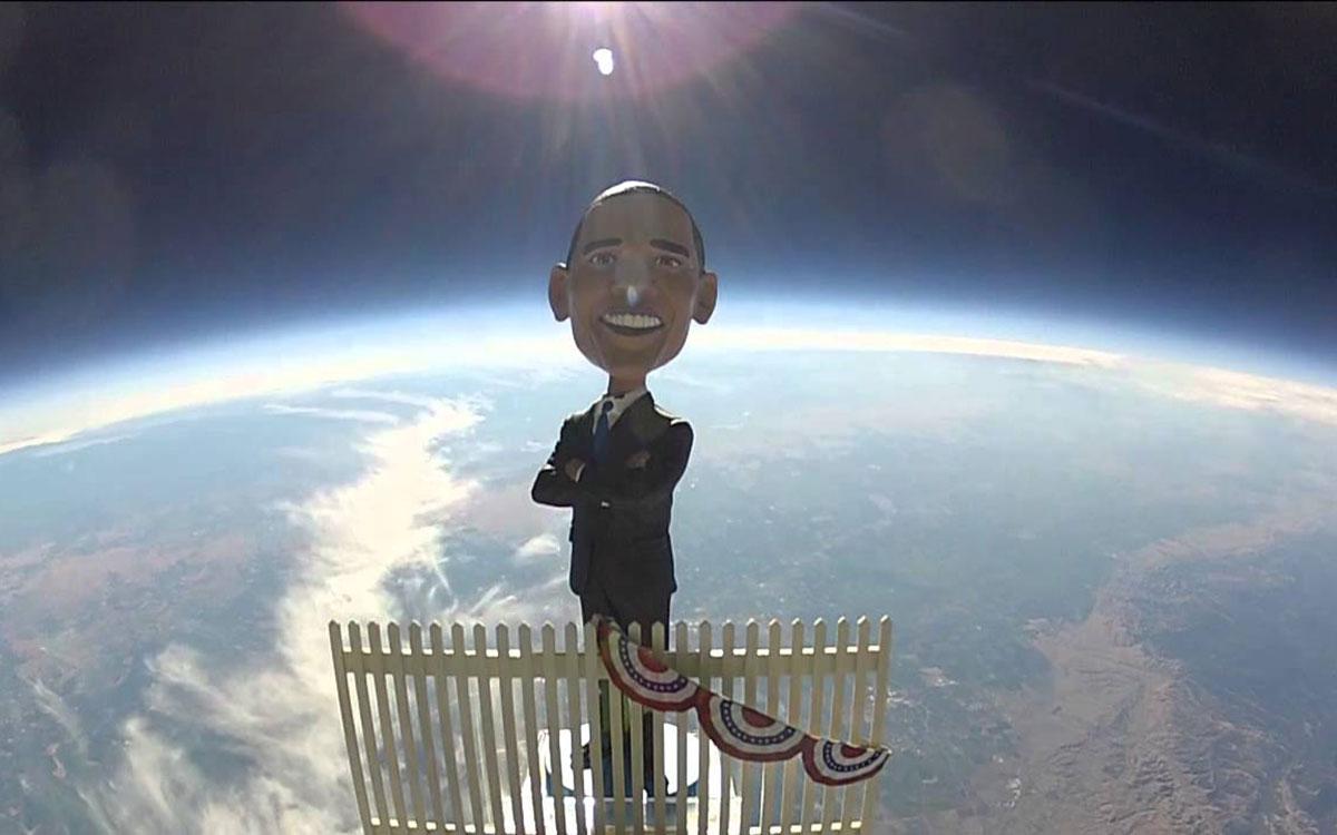 """提出火星计划后,奥巴马又操心起了太空天气"""""""