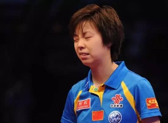 乒乓球我只服一个人非刘马张