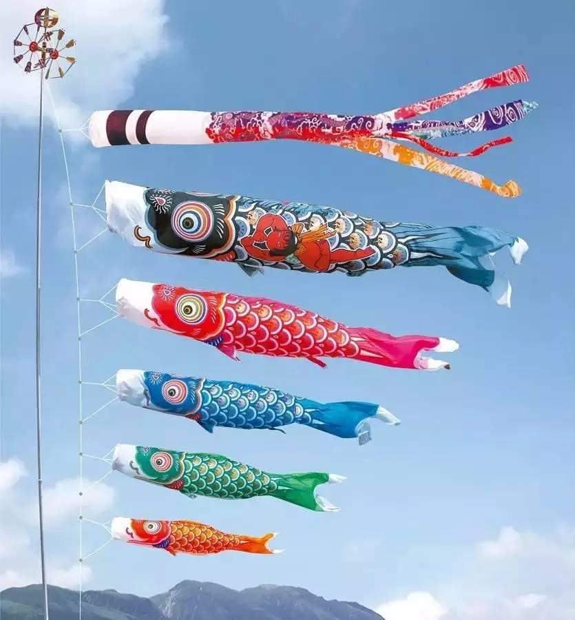 儿童节的鲤鱼旗