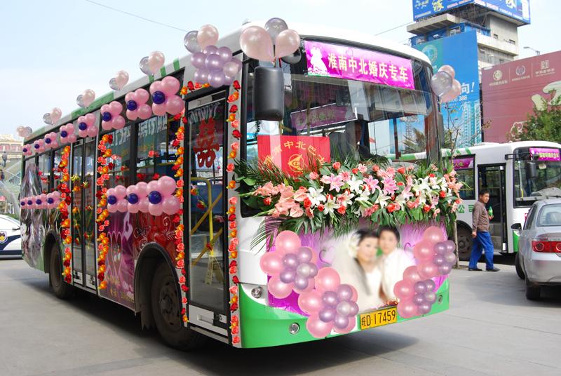 个性婚车装饰 如何用气球装饰不同车型的婚车