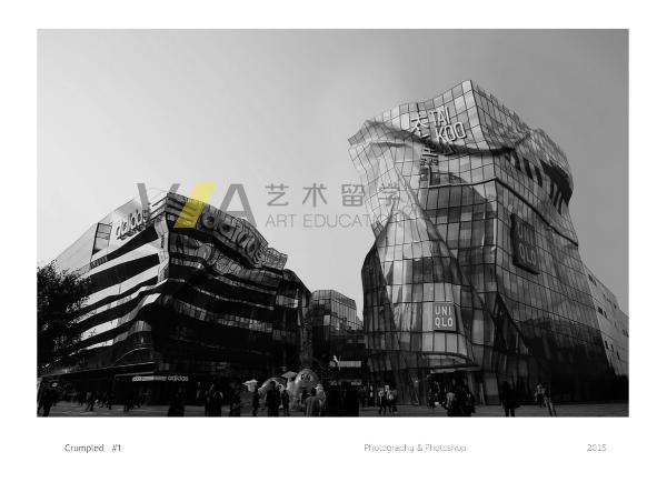 建筑设计专业留学作品集欣赏