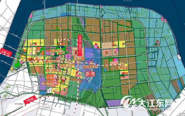 杭州地铁13号线规划图