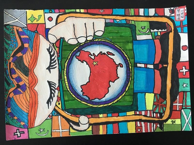 """""""美丽中国""""舟山赛区第三届少儿手绘地图大赛获奖作品"""