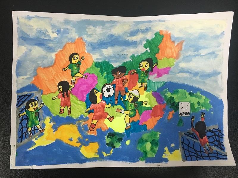 """""""美丽中国""""舟山赛区第三届少儿手绘地图大赛获奖作品大放送"""