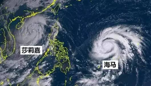 """""""莎莉嘉""""""""海马""""双台风"""
