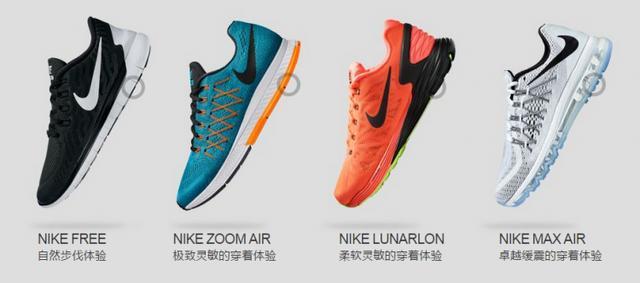 "Nike Zoom Air 跑鞋矩阵!顺带简单说说怎样选跑鞋"""