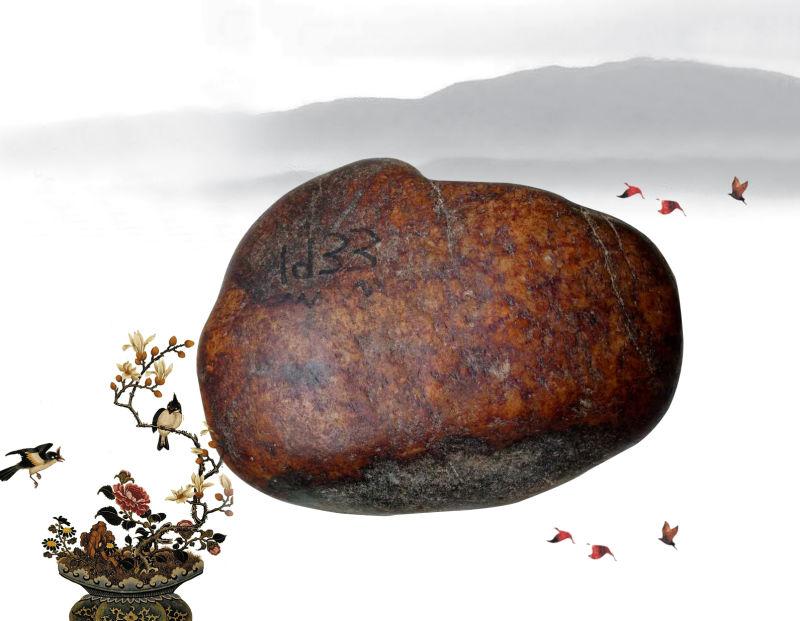 国玄艺术:收藏界的珍品和田玉籽料原石