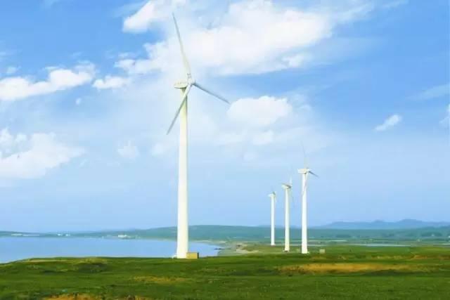 △丹麦日德兰半岛风车图片