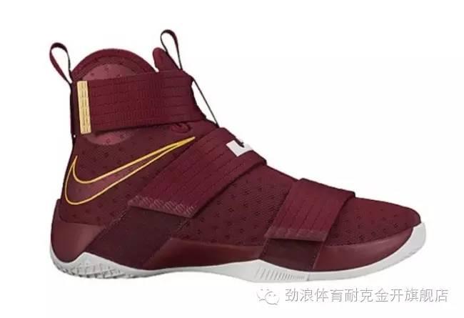 """红色战神!Nike LeBron Soldier 10 """"Christ the Ki"""""""