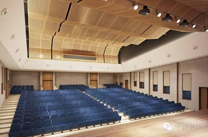 彩色外立面,整个校园建筑为时下最流行的新中式风格(在建实景图) 1图片