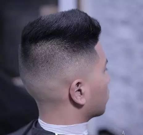给干练的短发增加一丝调皮的韵味,而两侧的渐变,搭配有型的络腮胡图片