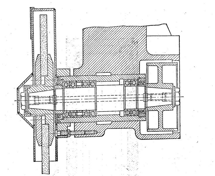 机床主轴轴承安装图——东莞凌纳机械