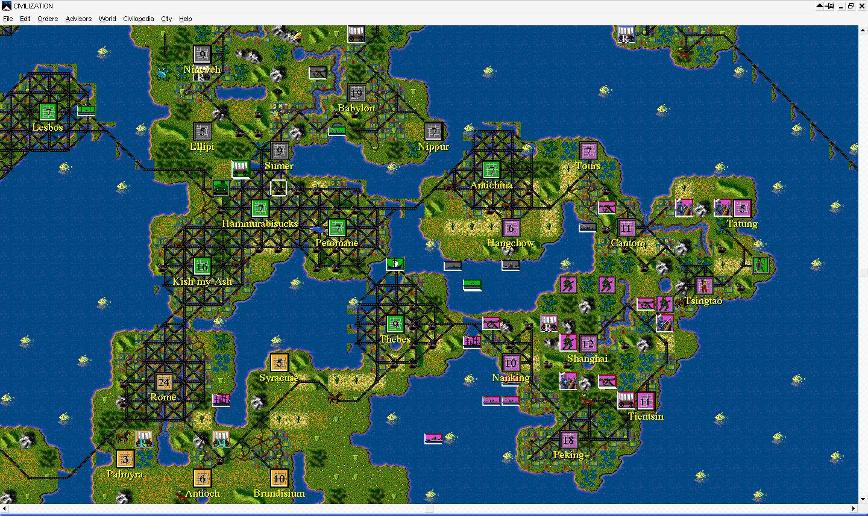 今天,我要安利一款游戏——《文明6》图片