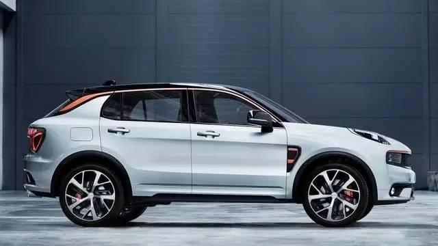 吉利沃尔沃全新品牌LYNK Co全新概念SUV亮相高清图片