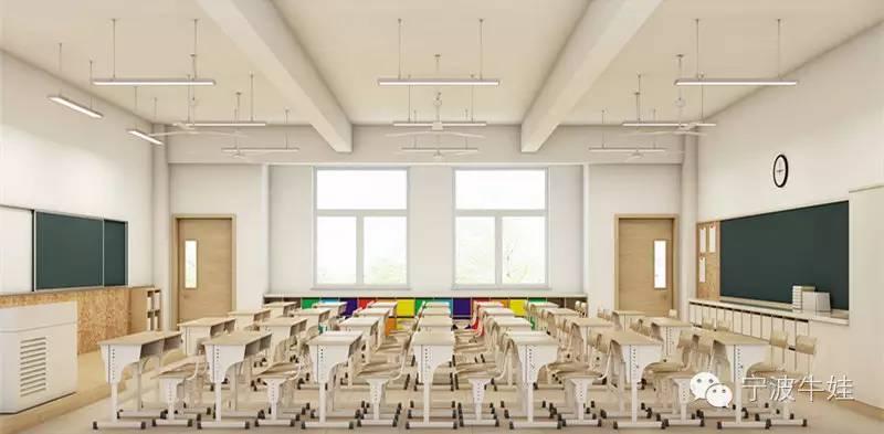 彩色外立面,整个校园建筑为时下最流行的新中式风格(在建实景图)图片