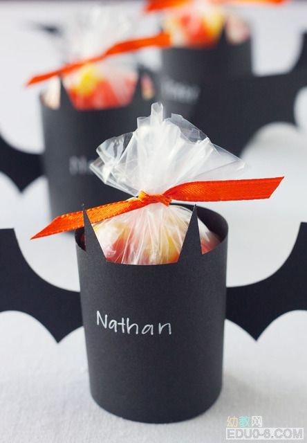 幼儿园万圣节手工制作:糖果创意图片