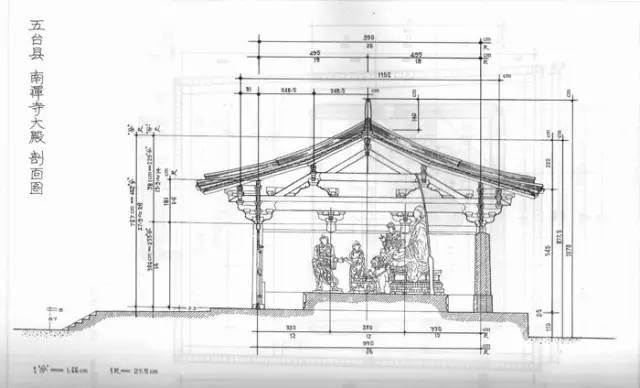 14,现存最雄大的唐代木结构建筑 —— 山西五台山豆村佛光寺东大殿