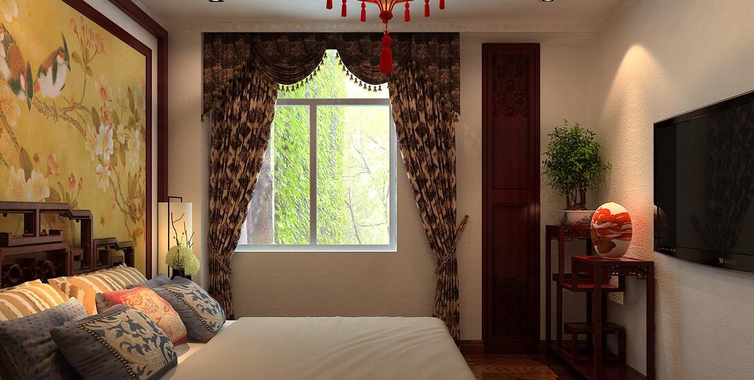 新中式窗帘与传统中式窗帘的区别,如何选购图片