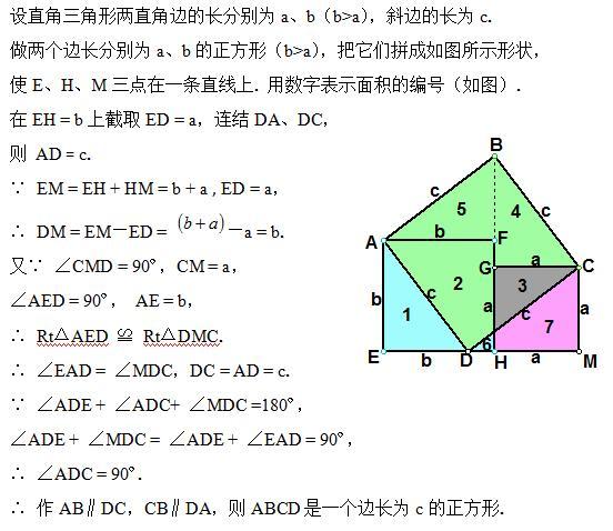 吴国平:一个勾股定理就有400多种证明方法