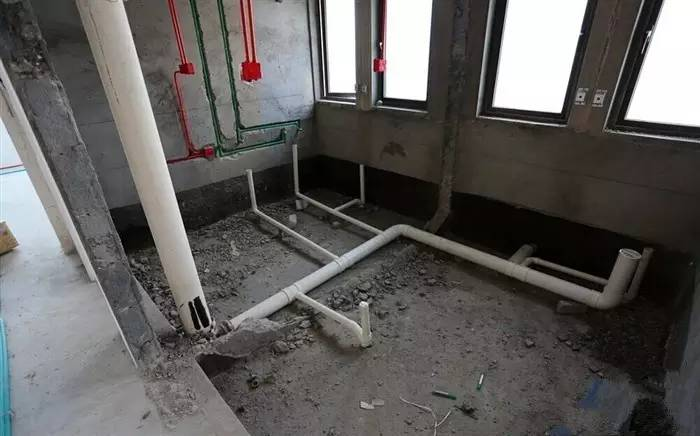 下沉式卫生间渗漏原因和二次排水的具体做法图片