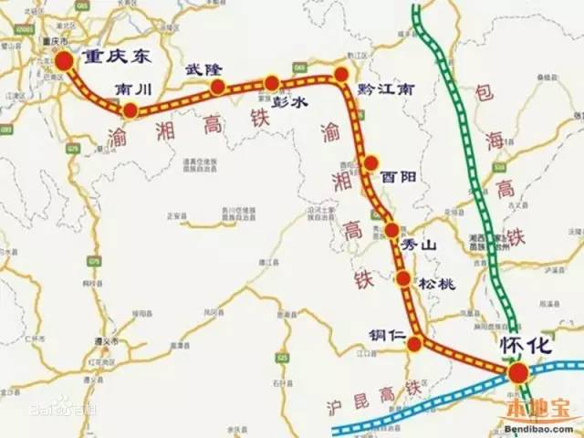 湖南省内将建成高铁环线,秒杀北上广