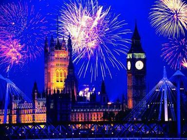 伦敦跨年烟花表演门票开售啦图片