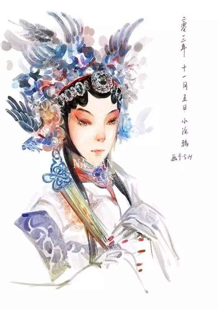 古风京剧戏曲人物