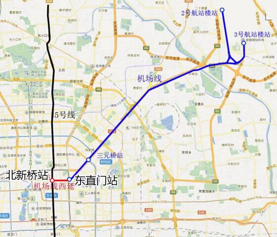 2019燕郊地铁规划图