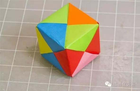 折纸就能折出正方体