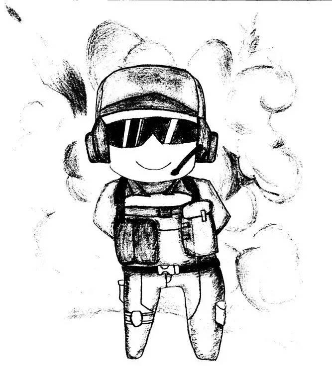 动漫 简笔画 卡通 漫画 手绘 头像 线稿 667_770
