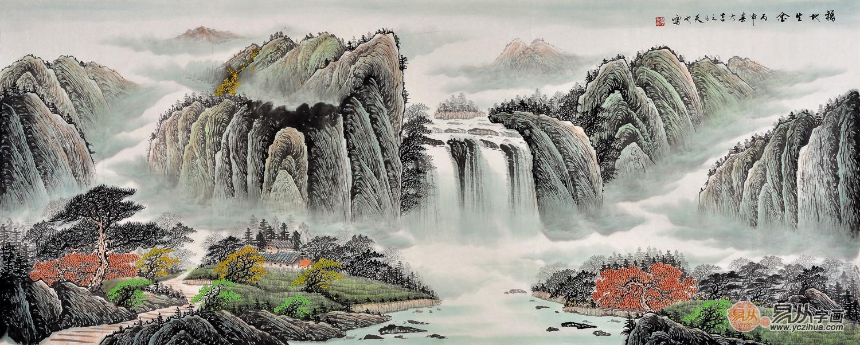 师从名家许家珏学习国画山水.桂林山水画研究会会员.图片