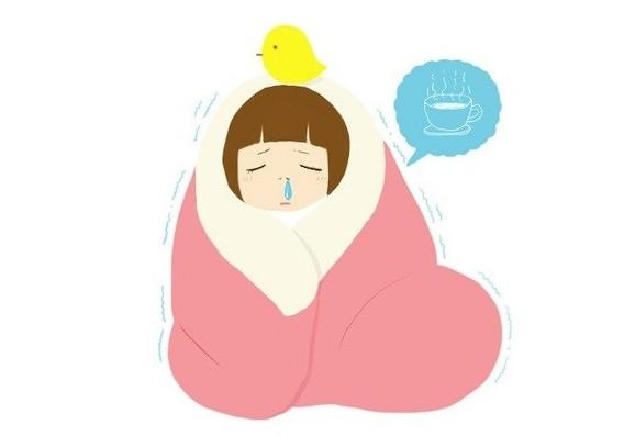 感冒之所以是个问题,是因为它会带来难受的症状,影响工作,学习和休息图片