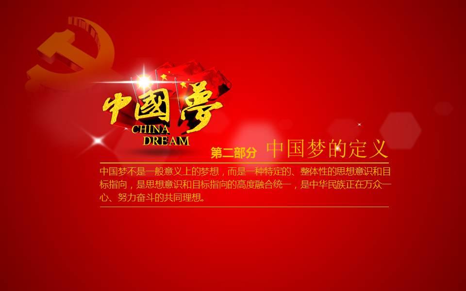 践行核心价值观,共筑中国梦,学习动态ppt模板.