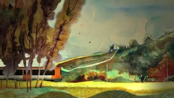 火车进山洞视频集锦