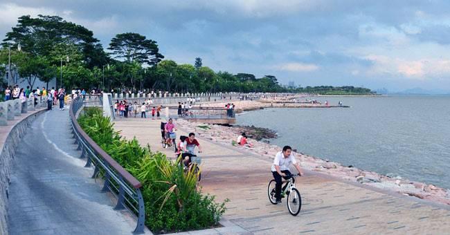 洞头半屏滨海慢行道效果图-未来五年,温州如何实施海洋环境保护,高清图片