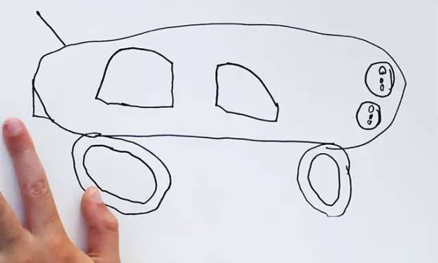 当父母把孩子的简笔画PS成现实版或做成实物 笑喷了