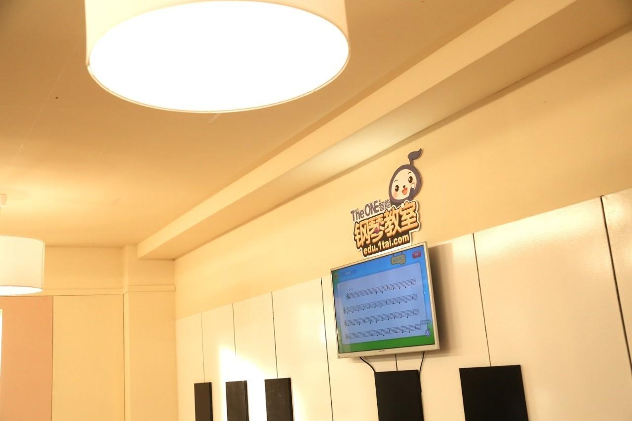 the one智能钢琴教室,爱上音乐如此简单