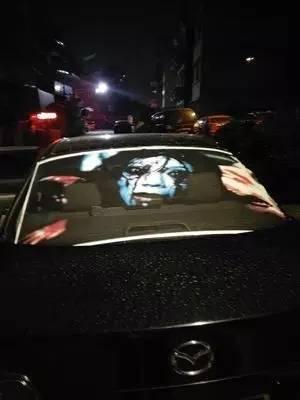 【惊吓】深夜车辆现鬼影吓坏后车司机!原因让人无语!