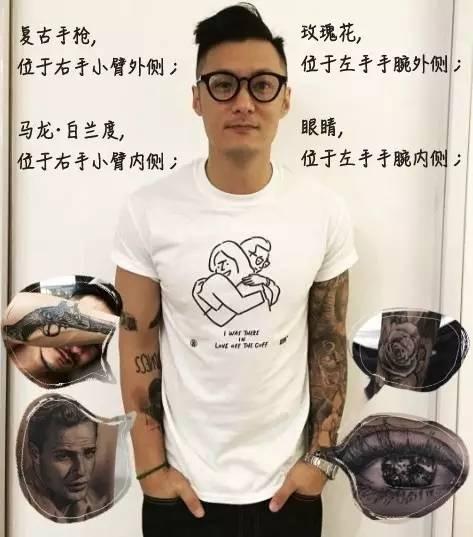 其实我更关注的是余文乐身上的纹身