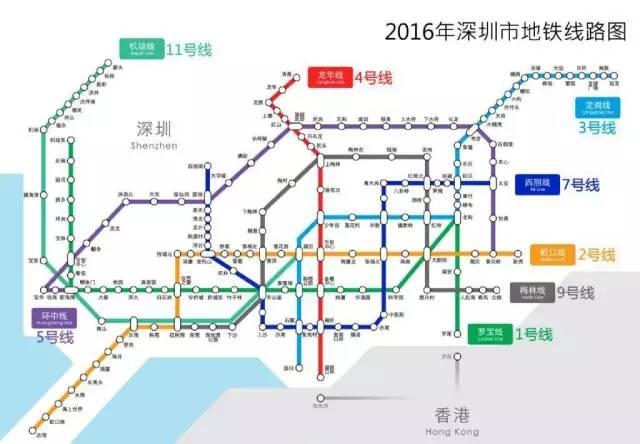 地铁7号线 9号线28号开通,深圳人你准备好了吗