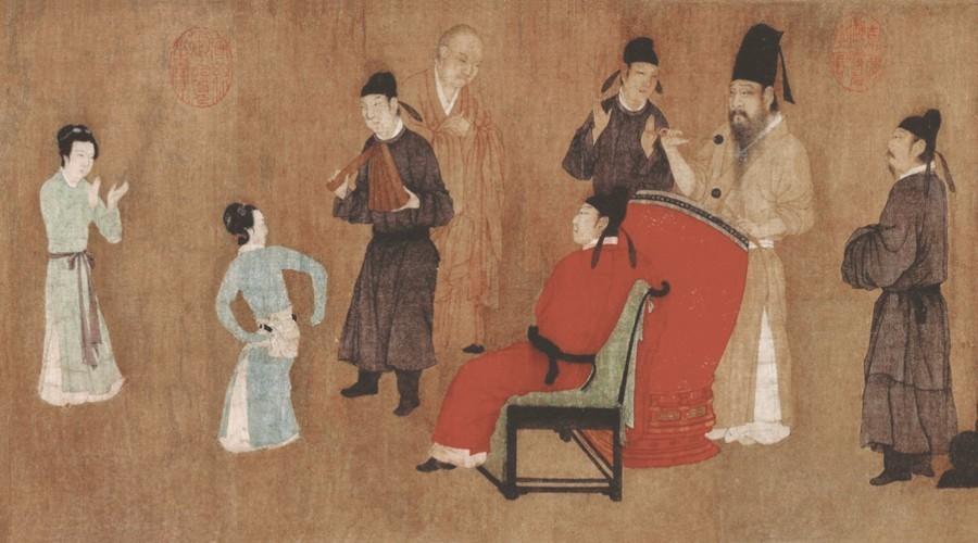 顾闳中《韩熙载夜宴图》的艺术成就