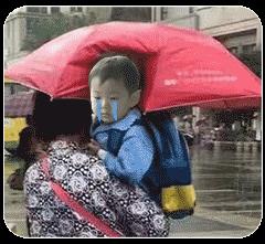 奶奶打伞照的孩子是男是女?传遍朋友圈的奶奶打伞照真相解密-网络红人 第5张