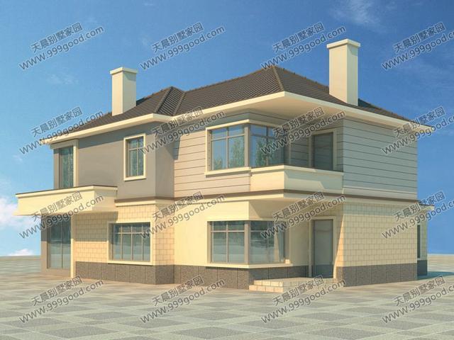 新别墅田园设计图,现代简约大气风舒适农村!众安建筑设计院图片